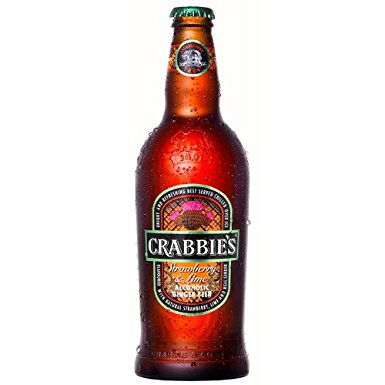 Crabbies Ginger Beer 8 x 500ml