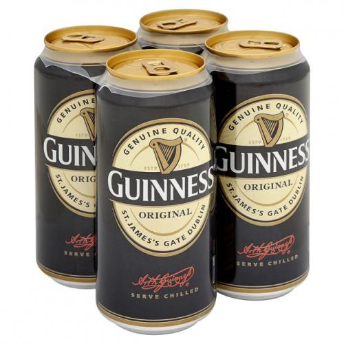 Guinness Original Cans 4 x 500ml