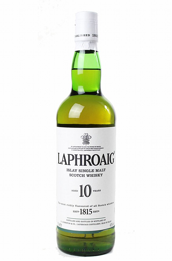 Laphroaig Islay Single Malt Whisky 10 year 70cl