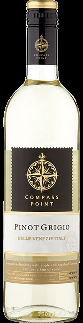 Compass Point Pinot Grigio 6 x 75cl