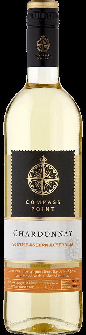 Compass Point Chardonnay 6 x 75cl