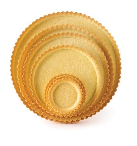 Pidy Sweet All-Butter Shortcrust Fluted Tartlet 8.5cm x 54