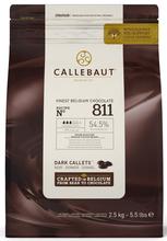 Callebaut 54% Dark Chocolate Pistoles 2.5kg