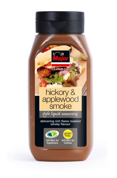 Major Hickory & Applewood Smoke Liquid Seasoning 500g