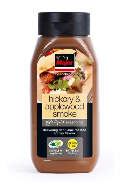 Major Hickory & Applewood Smoke Liquid Seasoning 500g