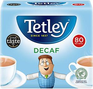 Tetley Decaff Teabags 80s