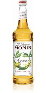 Monin Banana Syrup 70cl