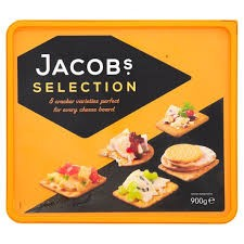 Jacobs Biscuits for Cheese 900g