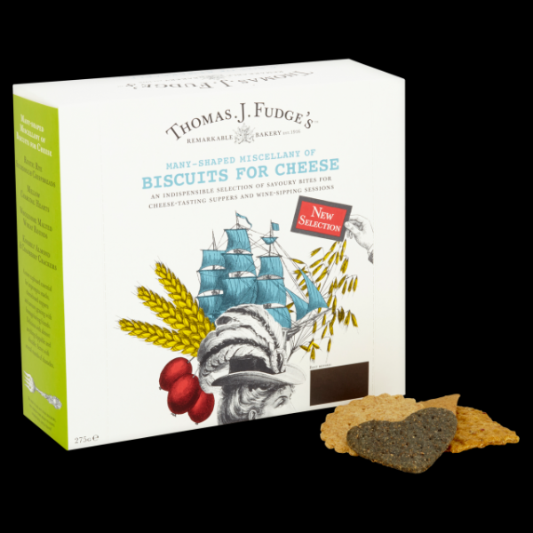 Fudges Biscuits For Cheese 275g