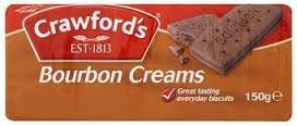 Crawfords Bourbon Creams 12 x 150g