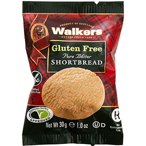 Walkers Gluten Free Shortbread Biscuits 60 x 30g