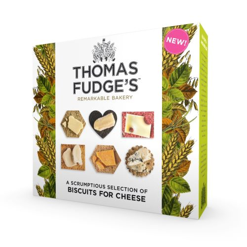 Fudges Biscuits For Cheese 675g (120 biscuit)