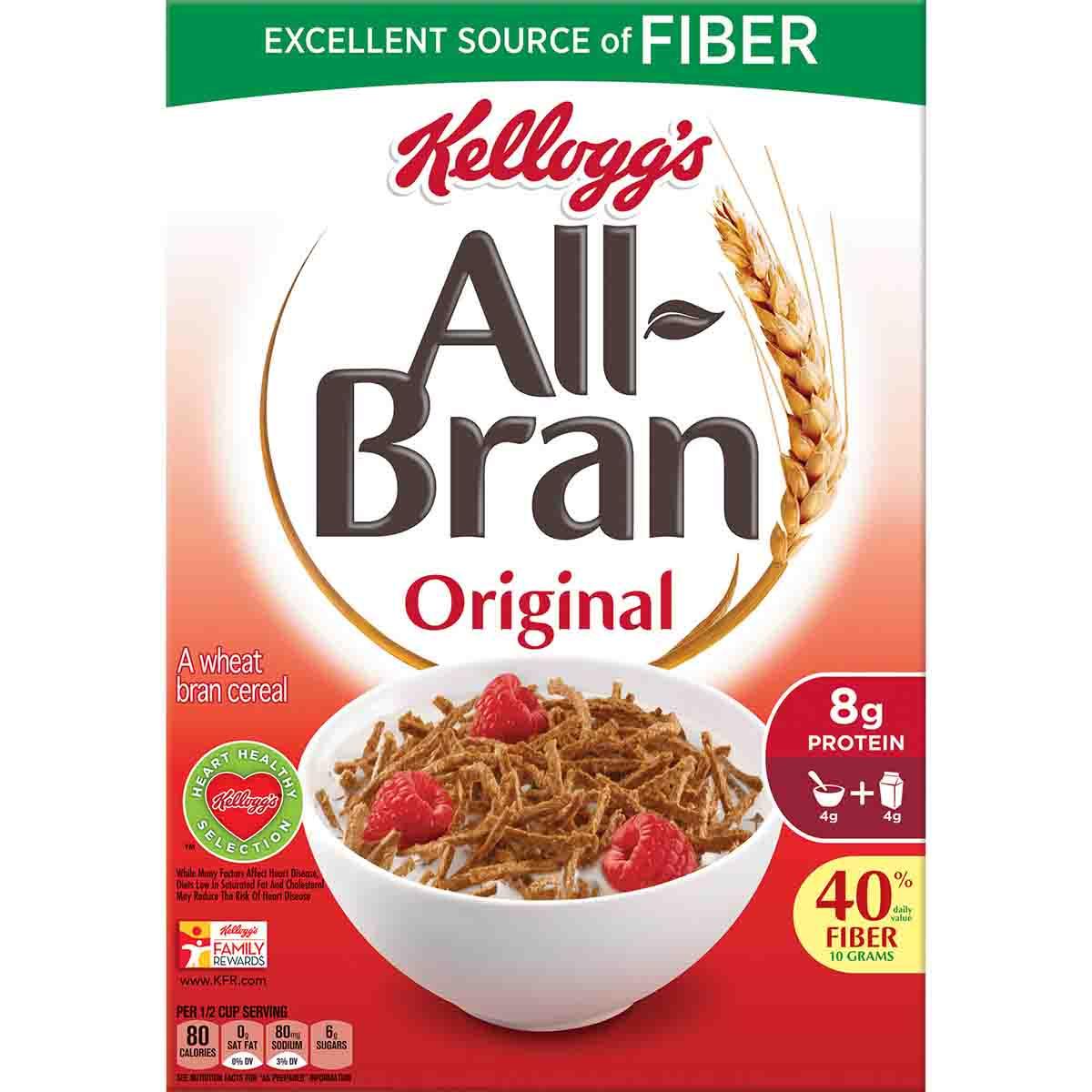 All Bran Portions 40 x 45g