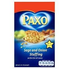 Paxo Sage & Onion Stuffing  2.5kg