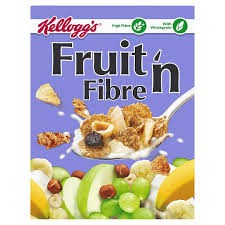 Kelloggs Fruit N Fibre Portions 40 x 45g