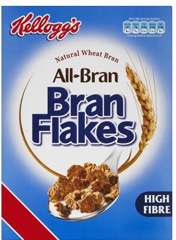 Kelloggs Bran Flakes 4 x 500g