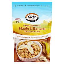 Glebe Farm Gluten Free Maple & Banana Granola 325g