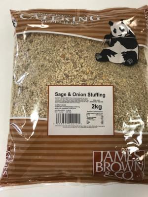 James Brown Sage & Onion Stuffing 2kg