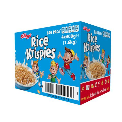 Kelloggs Rice Krispies 4 x 400g