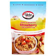 Glebe Farm Gluten Free Strawberry Granola 325g