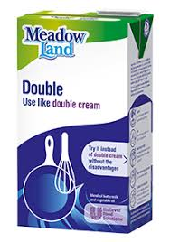 12 x Meadowland Double Cream Alternative Litre For £25 OFFER