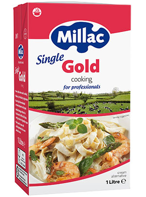 Millac Gold Single Cream u.h.t. 1ltr