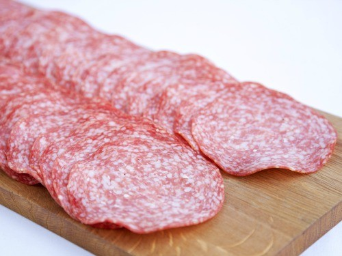 Sliced Milano Salami 250g