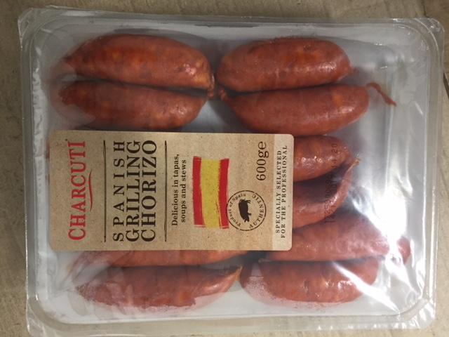 Spanish Grilling Chorizo 600g