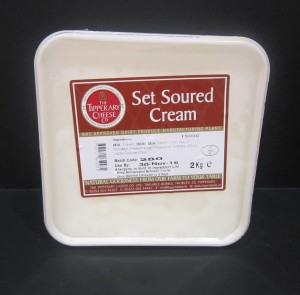 Set Soured Cream 2kg