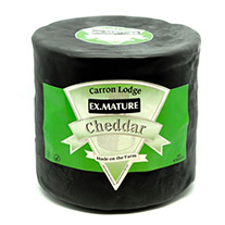 Black Waxed Extra Mature Cheddar Drum 3kg