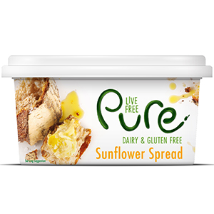 Dairy Free Pure Sunflower Spread 16 x 500g