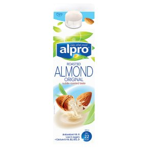 Alpro Almond Milk Unsweetened 1ltr