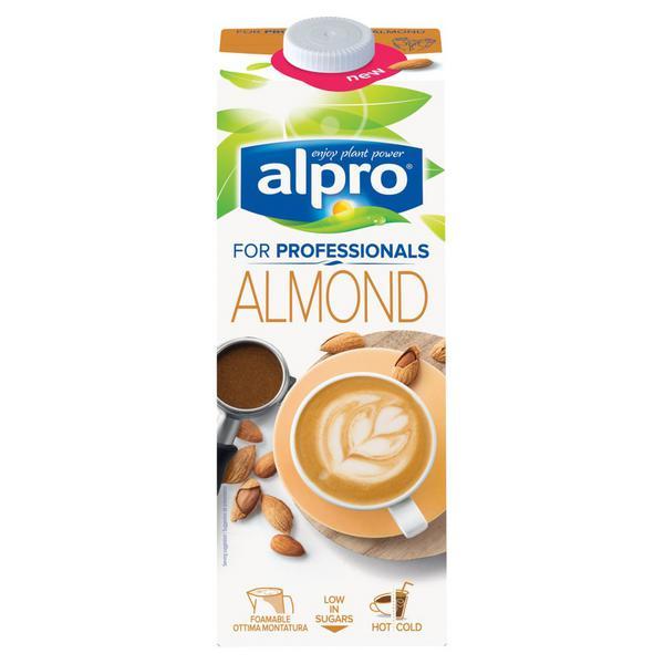 Alpro Almond Milk For Professionals 1ltr