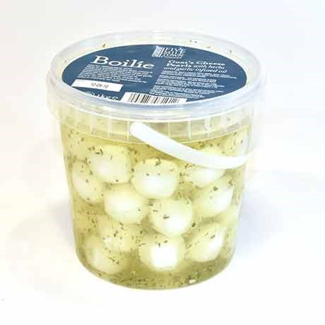Boilie Goats Cheese Pearls in Oil and Herbs  1kg