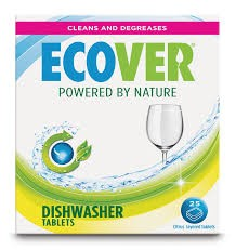 Ecover Citrus Dishwasher Tablets x25