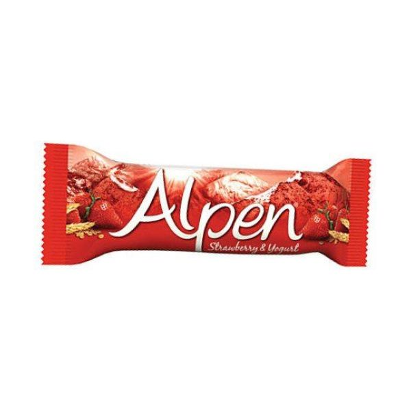 Alpen Bars Strawberry 24 x 39p