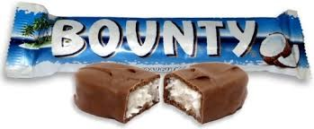 Bounty Milk Bars 24 x 57g