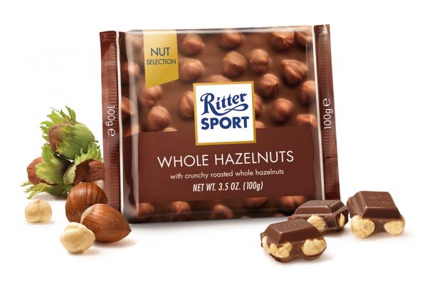 Ritter Milk Hazelnut 12 x 100g