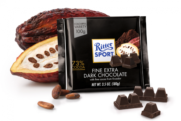 Ritter Extra Dark Chocolate 9 x 100g