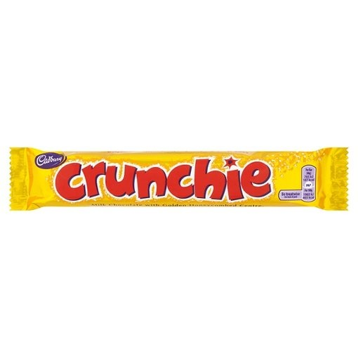 Cadbury Crunchie Chocolate Bars 48 x 40g