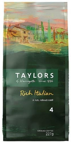Taylors Italian Ground Coffee 227g