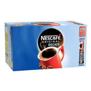 Nescafe Decaffinated Sticks x 200