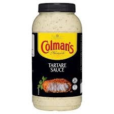 2 x Colmans Tartare Sauce 2.25ltr for £16 OFFER