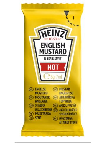 Heinz Mustard Sachets x 250