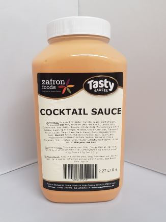 Zafron Prawn Cocktail Sauce 2.27ltr