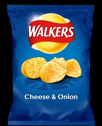 Walkers Cheese & Onion 32 x 32.5g