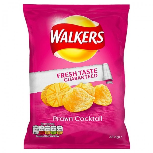 Walkers Prawn Cocktail 32 x 32.5g