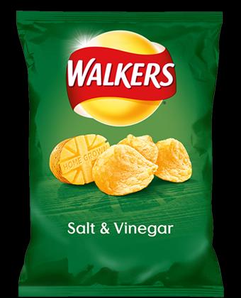 Walkers Salt and Vinegar 32 x 32.5g