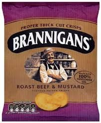 Brannigans Beef & Mustard 36 x 40g