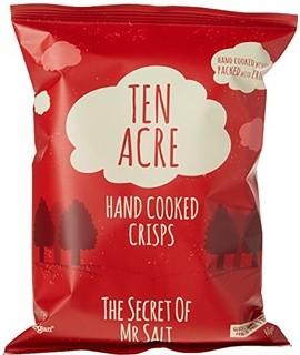 Ten Acre Ready Salted Crisps 24 x 40g (Gluten Free)